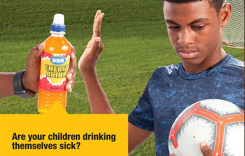 PRESS RELEASE: Adults must help children avoid sugary drinks at home and at school