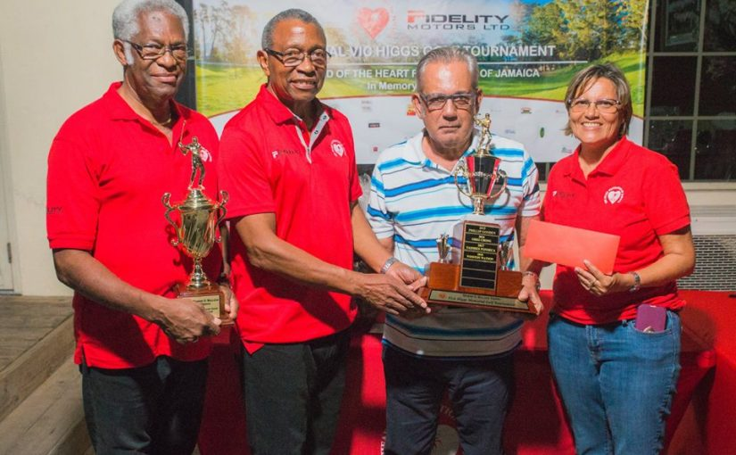 Vic Higgs Memorial Golf Tournament Results